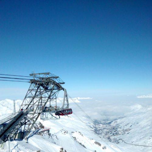 téléphérique val thorens cime caron ecole de ski esa black ski